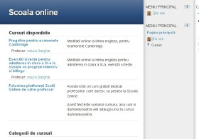 Creare site-uri eLearning