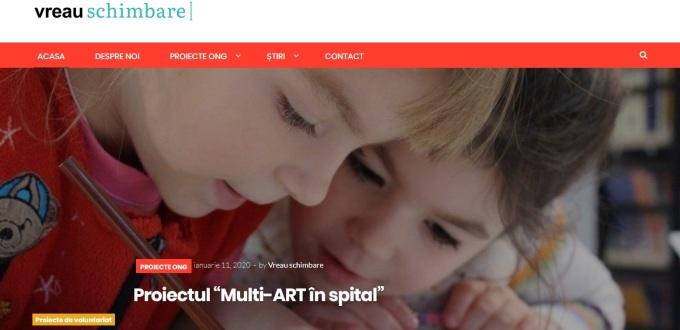 Site asociatie non-profit București
