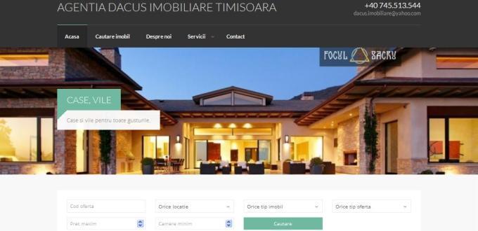 Creare site web Timisoara, creare site agentii imobiliare