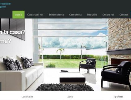 Creare site agentia Punto Imobiliare Cluj-Napoca, creare site agentii imobiliare,Creare site web Cluj Napoca