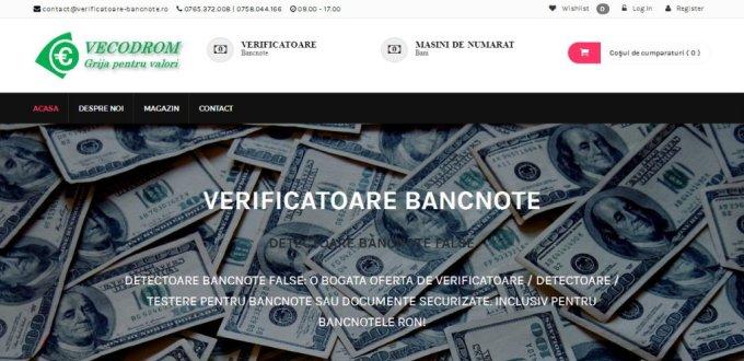 Creare magazin online Vecodrom Constanta