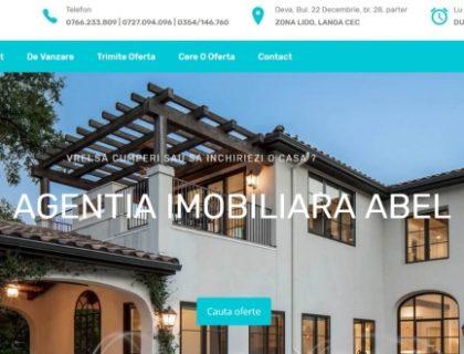 Site agentia imobiliara ABEL Deva