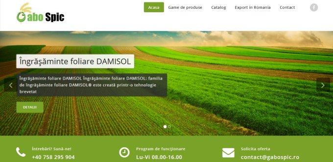Creare catalog online Gabo Spic Simleul Silvaniei