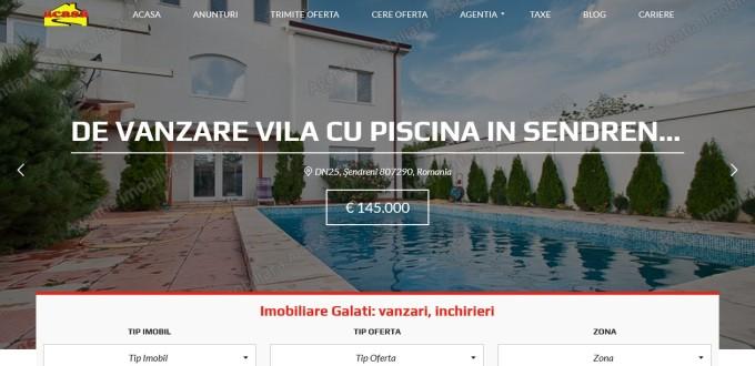 Creare site Agentia imobiliara AcasA Galati