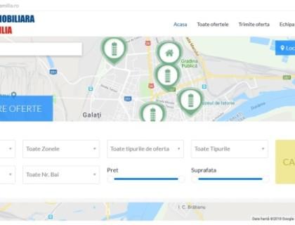 Site Agentia Imobiliara Familia Galati