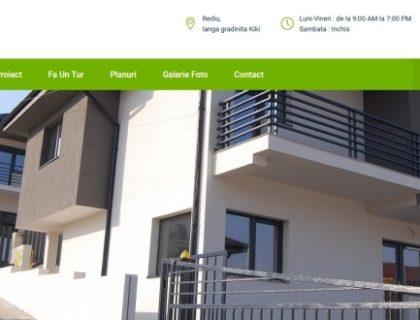 Site de prezentare proiect rezidential